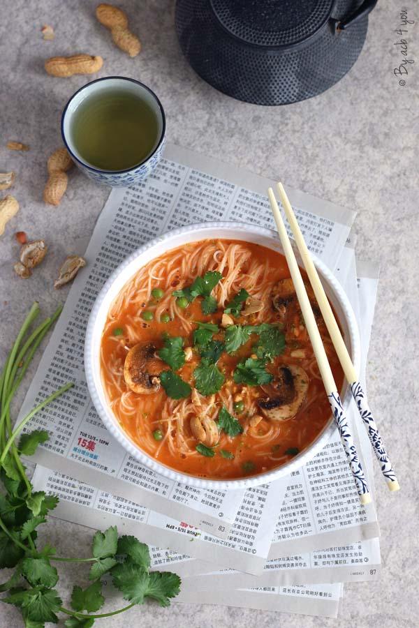 Soupe de crevette façon thaï