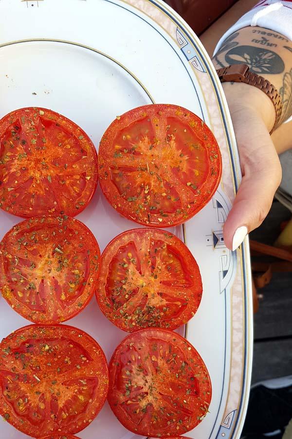 Roscoff, Baie de Morlaix et producteur de tomates