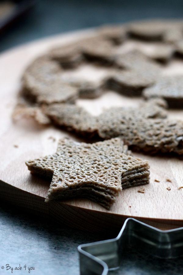 Chips de sarrasin maison