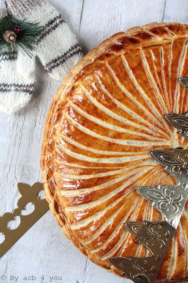 Galette des rois, noisette et crème de marron
