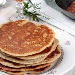Pancake rhum raisin