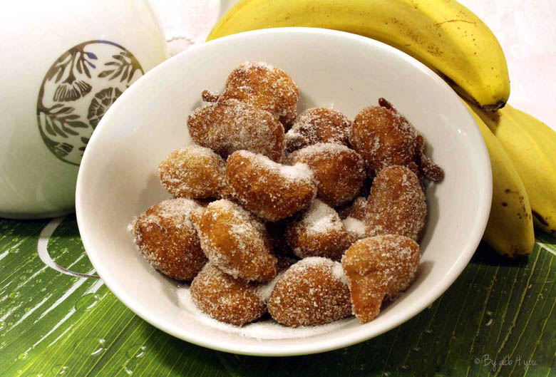 Beignets de bananes antillais