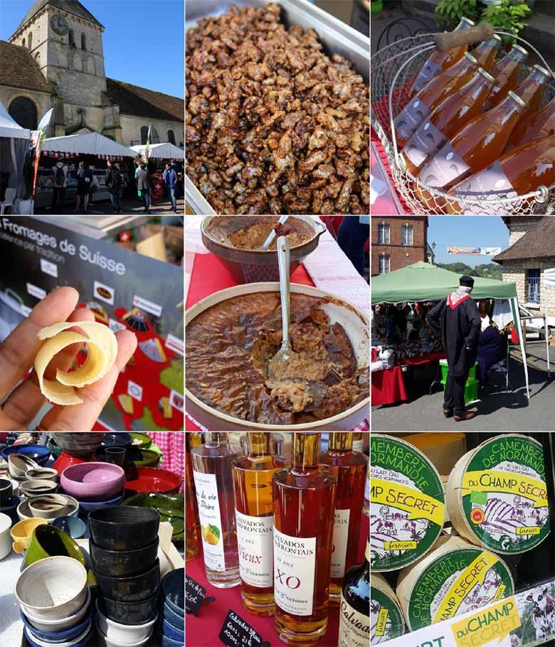 Goujonnettes de plie, sauce cidre et camembert pour le festival des AOP et AOC de Cambremer