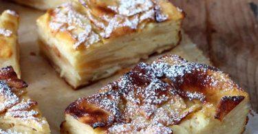 Gâteau invisble aux pommes