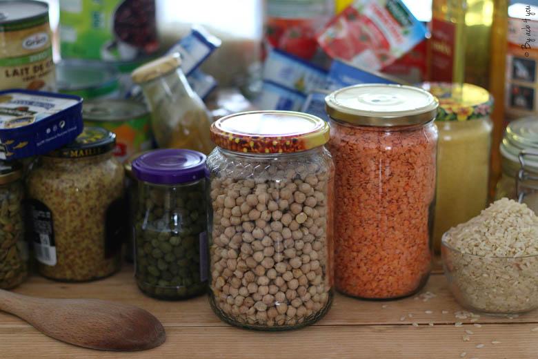 Recettes simples et faciles avec des ingrédients du placard