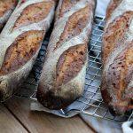 Baguettes à l'épeautre et graines de lin