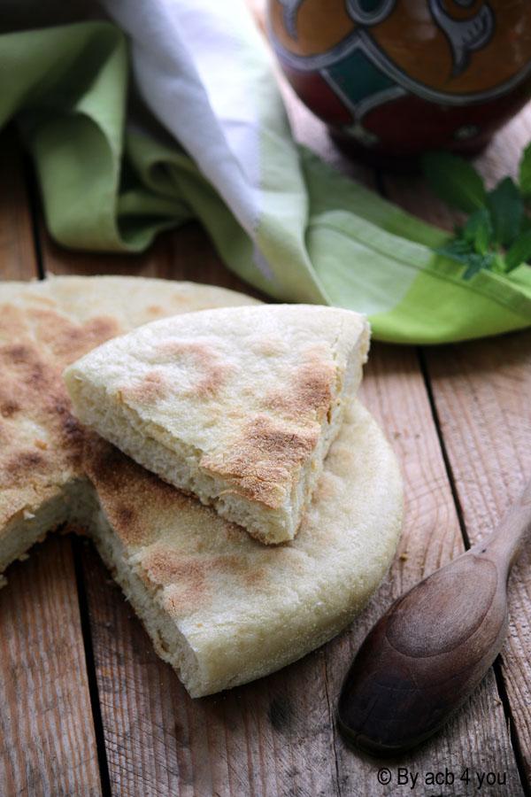 Pain plat marocain