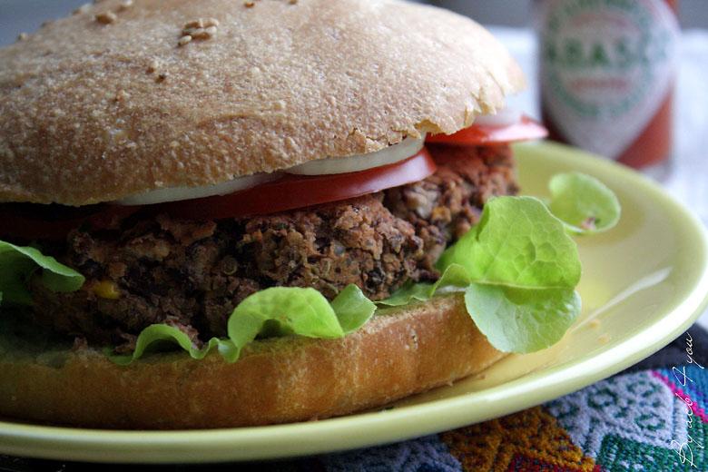 Burger Tex-Mex vegan