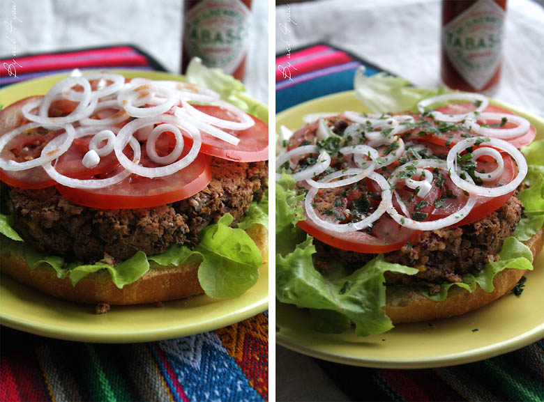 Burger Tex-Mex vegan