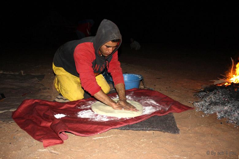 Batbout ou le pain marocain à la poêle