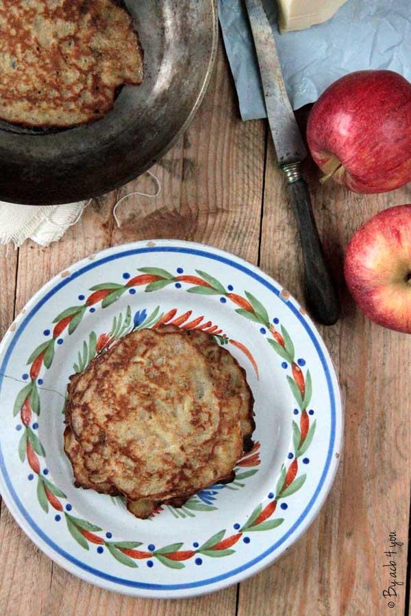 Petites galettes aux pommes
