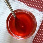 Gelée de fraises et de rhubarbe