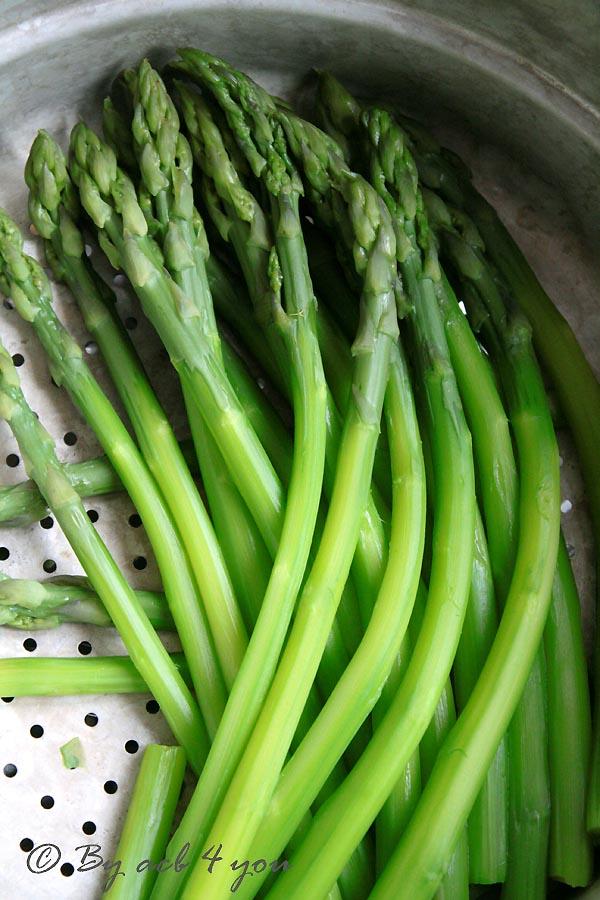 Risotto aux asperges vertes et parmesan