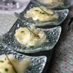 Carpaccio d'asperges blanches au parmesan