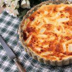 quiche aux asperges blanches et parmesan