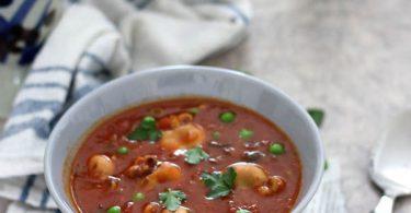 Petites sèches sauce tomate