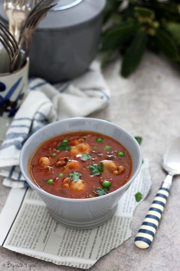 Petites sèches sauce tomate à la provençale