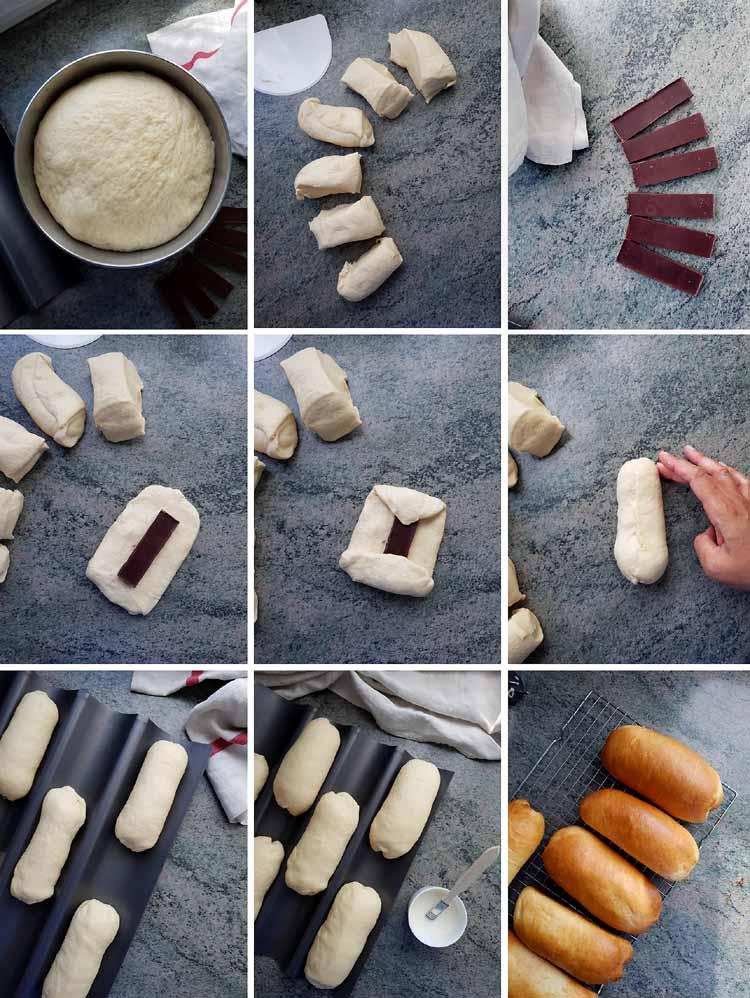 Pitch maison, le pain au lait au chocolat du goûter