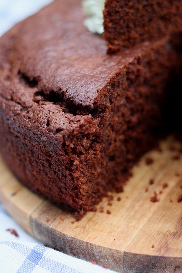 Gâteau au chocolat moelleux et sans lactose