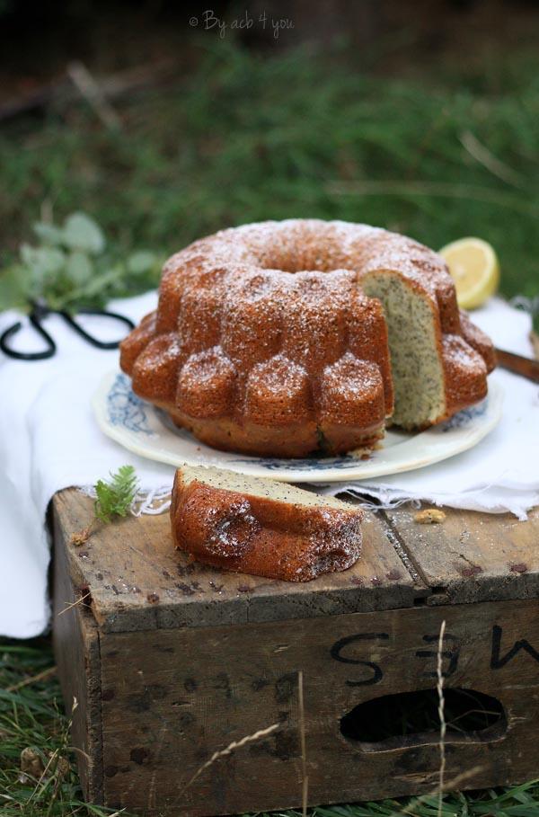 Gâteau citron et pavot