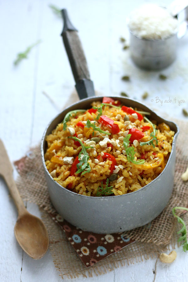 riz coco poivron