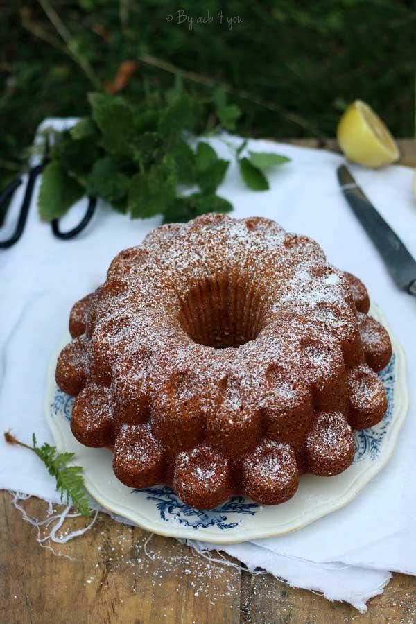 Gâteau citron et pavot, sans lactose