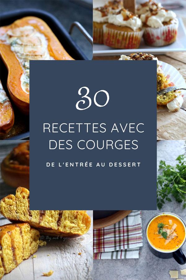 30 recettes avec des courges