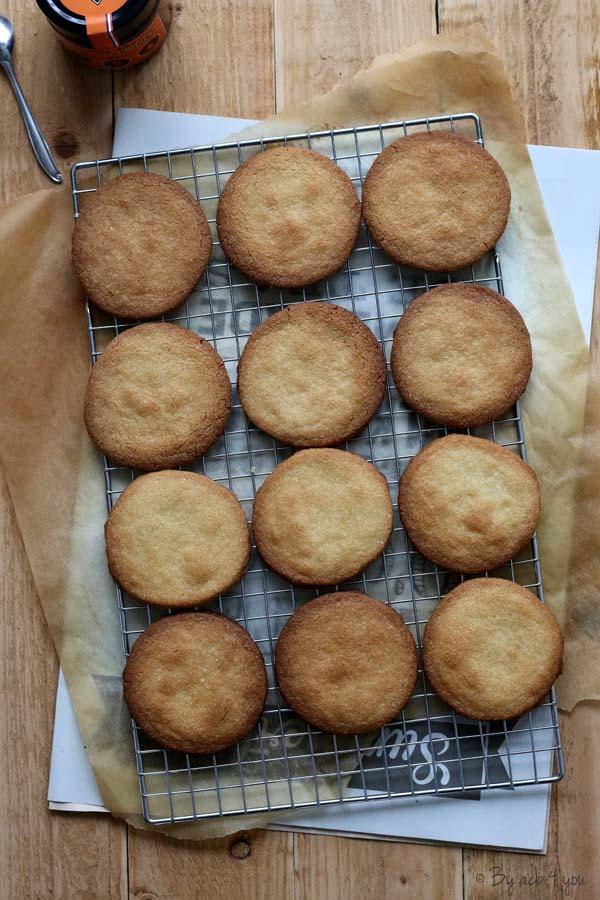 Sablés à la pâte à tartiner