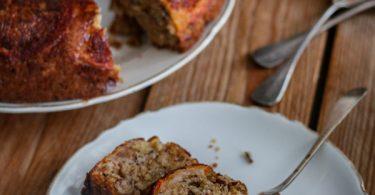 cake aux amandes et kakis