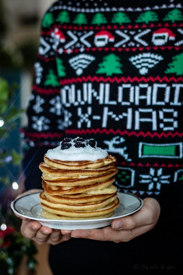 Pancakes faciles au yaourt coco