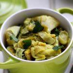 Curry de poireaux