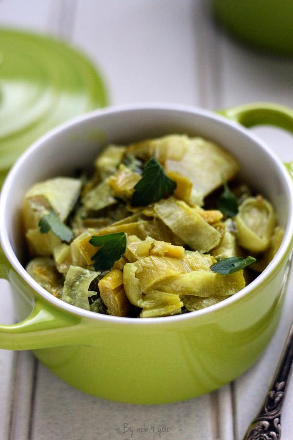 Curry de poireaux pommes de terre