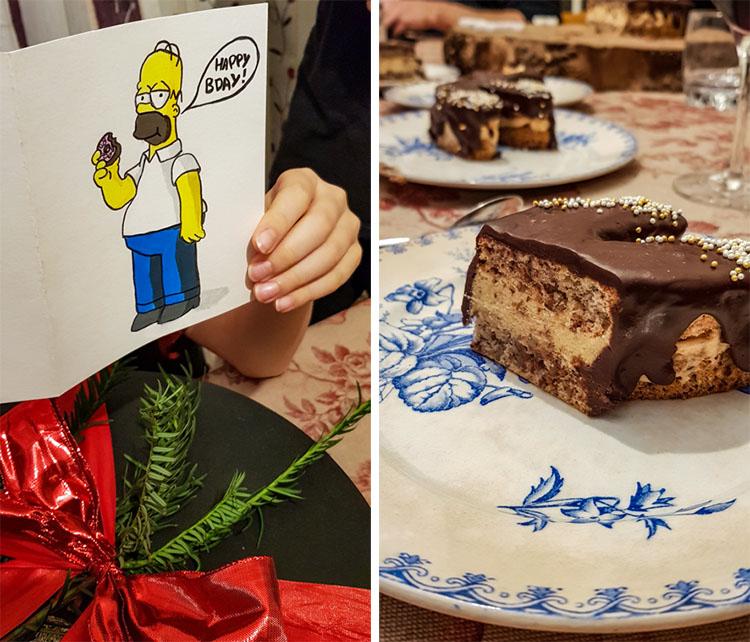 Gâteau Rudolph aux noix de pécan, caramel beurre salé et chocolat