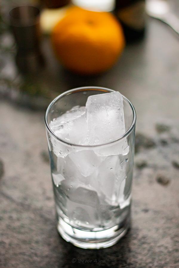 Gin fizz yuzu