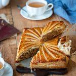 Galette des rois, crème d'amande au beurre de cacahuète