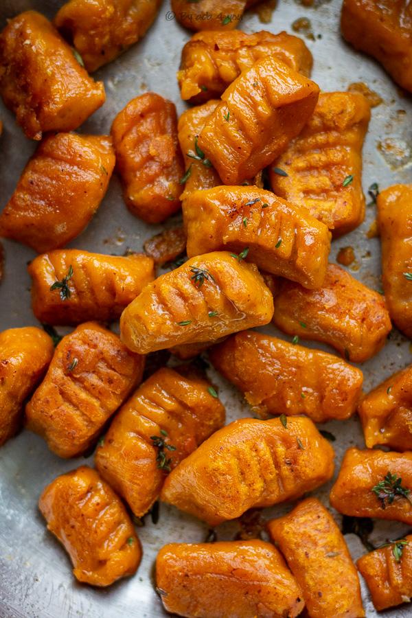 gnocchis de potimarron maison