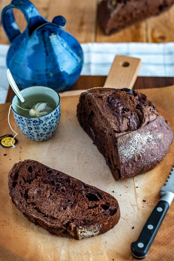pain cacao et miel