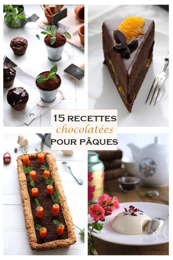 recettes chocolatées pour Pâques