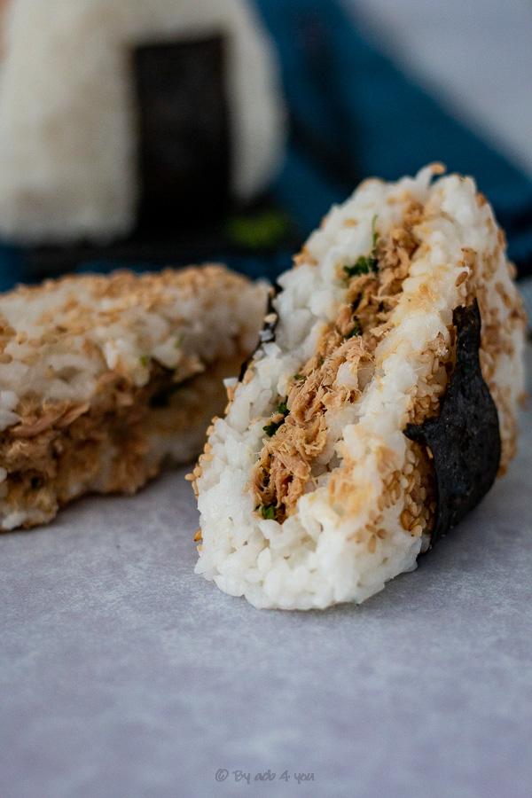 Onigri, le sandwich de riz japonais