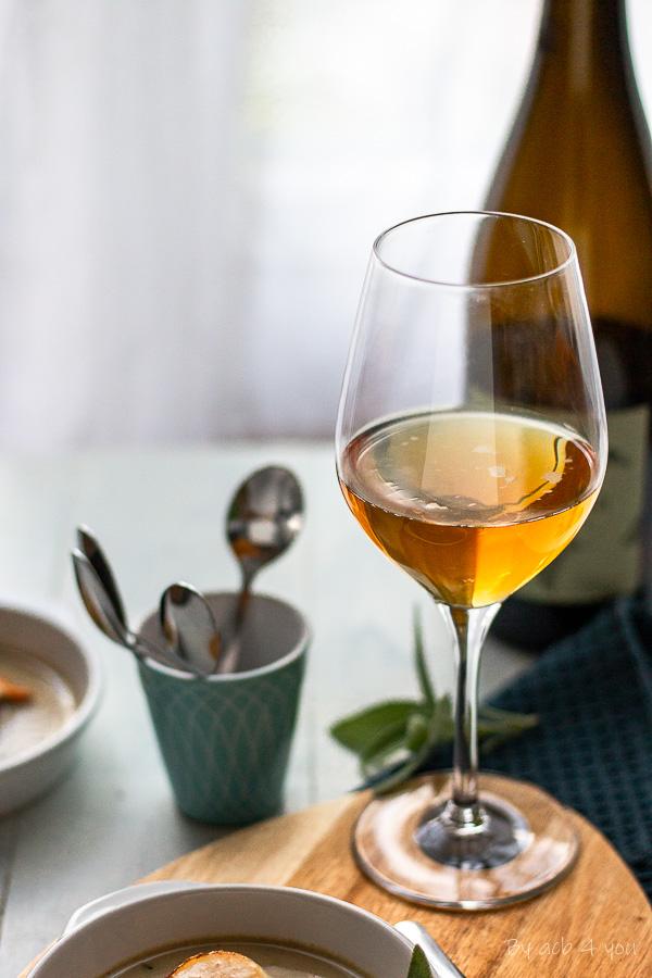 Noix de Saint-Jacques sauce au cidre à la sauge